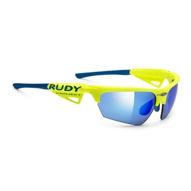 Артикул SP043967OR — Очки Rudy Project NOYZ RACING PRO YELLOW FLUO MLS BLUE