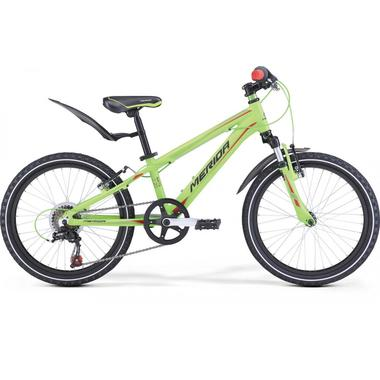 "Артикул 2000053531092 — Велосипед 17 Merida Matts J20 Boy Колесо:20"" Green/Red/Black (2000053531092)"