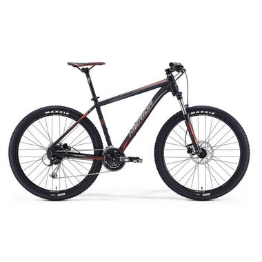 "Артикул 9276 — Велосипед Merida Big.Seven 100 Size: 17"" 16' Matt Black (Signal Red/Grey) (09276)"