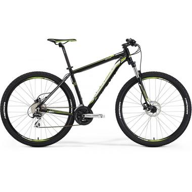 "Велосипед Merida Big.Nine 20-MD Size: 21"" 15'  Matt Black (white/green) (60884)"