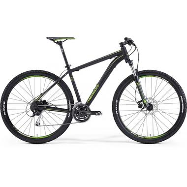 "Артикул 6110578316 — Велосипед Merida Big.Nine 100 Size: 17"" 15' Matt Black (green/dk.grey) (78316)"