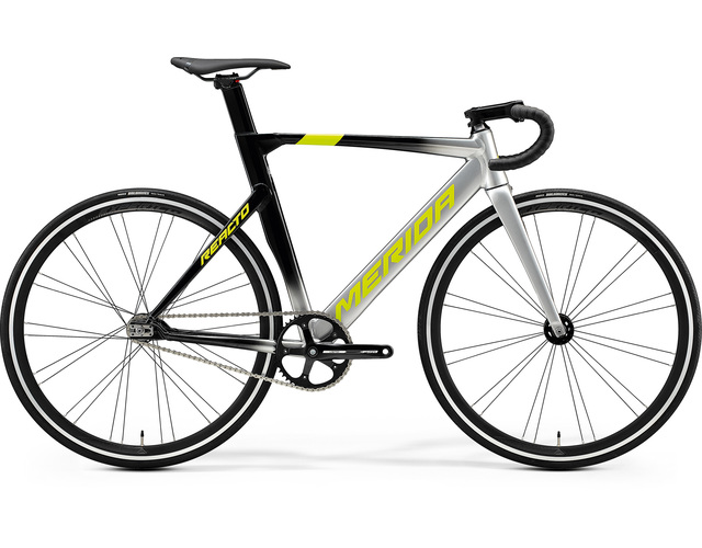 Велосипед 20 Merida Reacto Track 500 К:700C Р:SM(52cm) Silver/MetallicBlack/Yellow (6110832594)